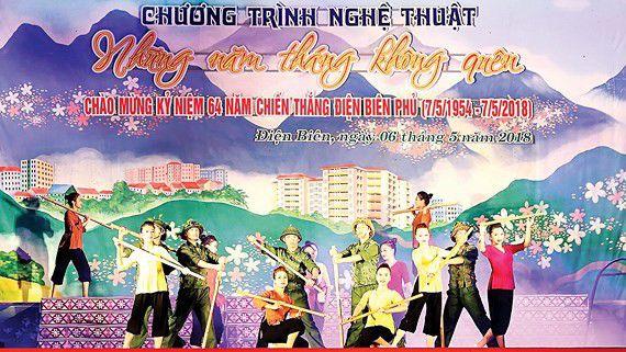 Nhiều hoạt động văn hóa chào mừng 65 năm Chiến thắng Điện Biên Phủ