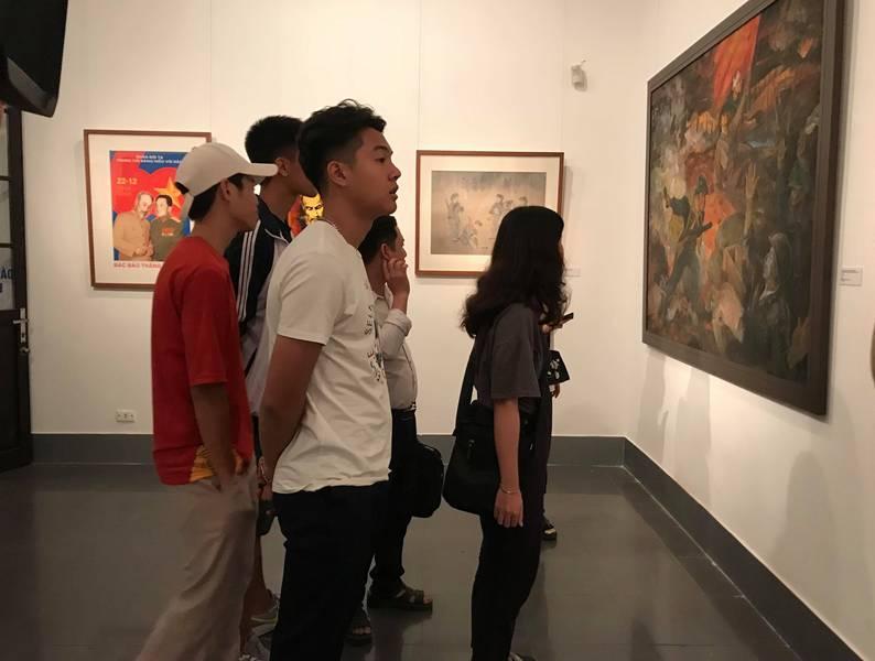 'Điện Biên năm ấy' qua các tác phẩm hội họa