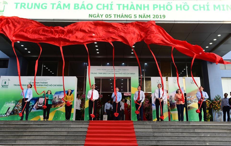 Khánh thành Trung tâm Báo chí TPHCM