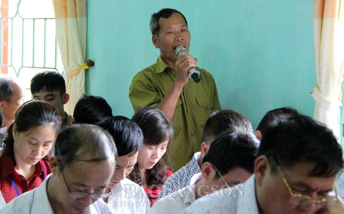 Mặt trận Tổ quốc huyện Cao Lộc: Phát huy vai trò trong thực hiện quy chế dân chủ ở cơ sở