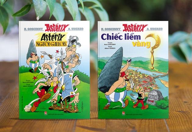 Bộ truyện tranh huyền thoại Asterix trở lại