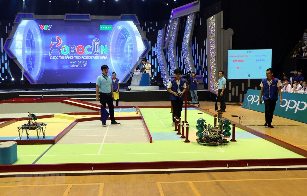 Đội LH-WAO vô địch Cuộc thi sáng tạo robot Việt Nam năm 2019
