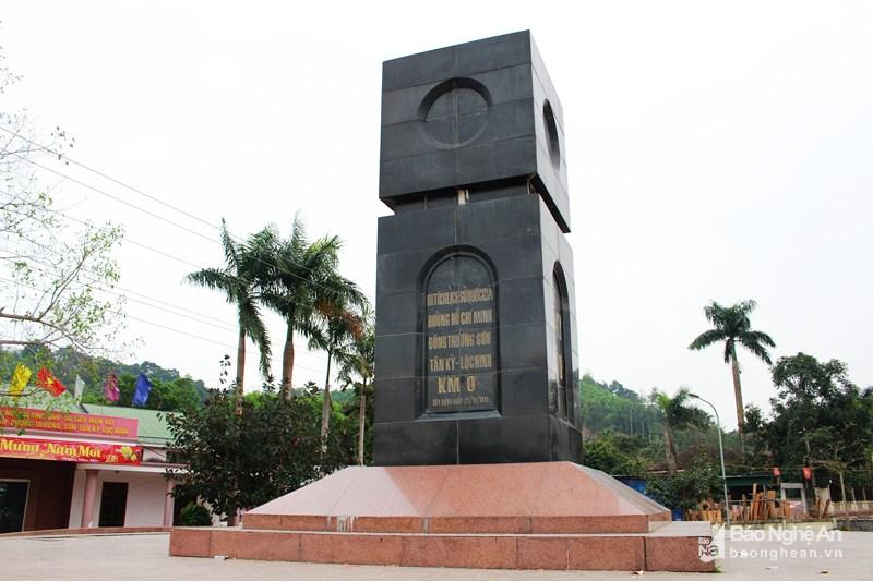 Công nhận điểm du lịch Di tích quốc gia đặc biệt Km số 0-đường Hồ Chí Minh