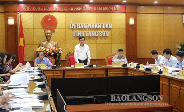 Họp Ban chỉ đạo cấp tỉnh kỳ thi THPT quốc gia 2019