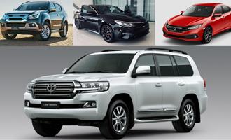 """Top 10 mẫu xe """"ế ẩm"""" nhất tại Việt Nam trong tháng 4"""