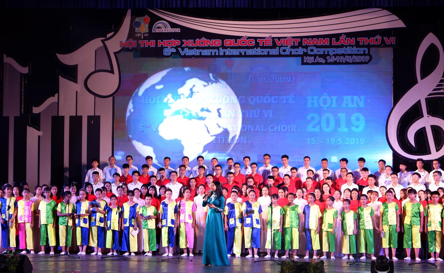 Gần 1.000 nghệ sĩ tranh tài tại Hội thi hợp xướng quốc tế Việt Nam