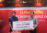 Xổ số điện toán Việt Nam đóng góp 1.200 tỷ đồng vào ngân sách