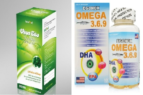 Cẩn trọng thông tin quảng cáo Vina Tảo, Egorex Omega 3.6.9