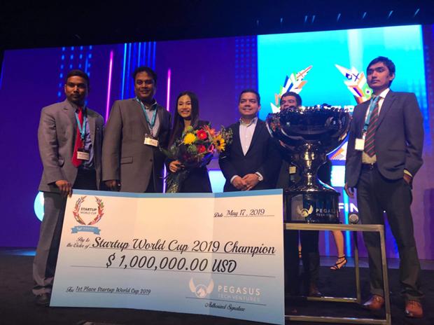 Startup Việt lần đầu vô địch đấu trường khởi nghiệp sáng tạo thế giới