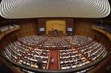 Quốc hội nghe báo cáo về Dự án luật sửa 2 luật