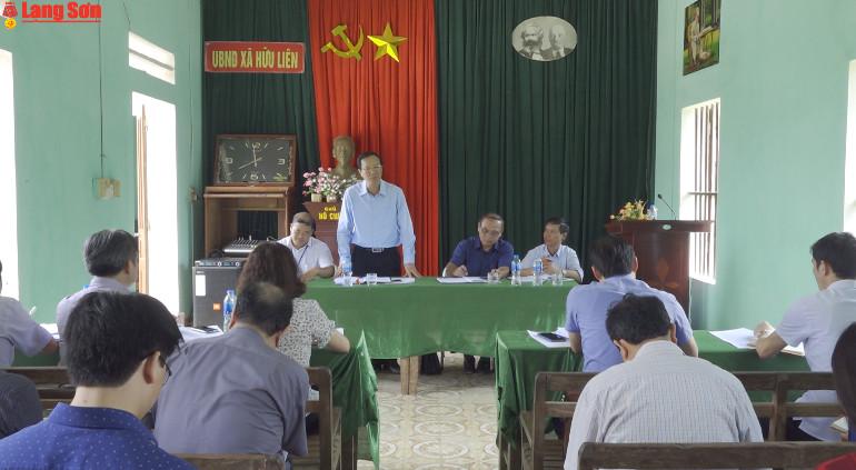 Lãnh đạo UBND tỉnh kiểm tra tình hình phát triển du lịch huyện Hữu Lũng