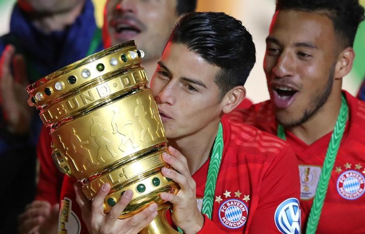 James Rodriguez rời Bayern, về lại 'mái nhà xưa' Real Madrid