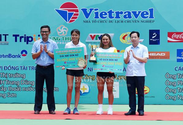 Bế mạc giải quần vợt chuyên nghiệp Việt Nam Cúp Vietravel