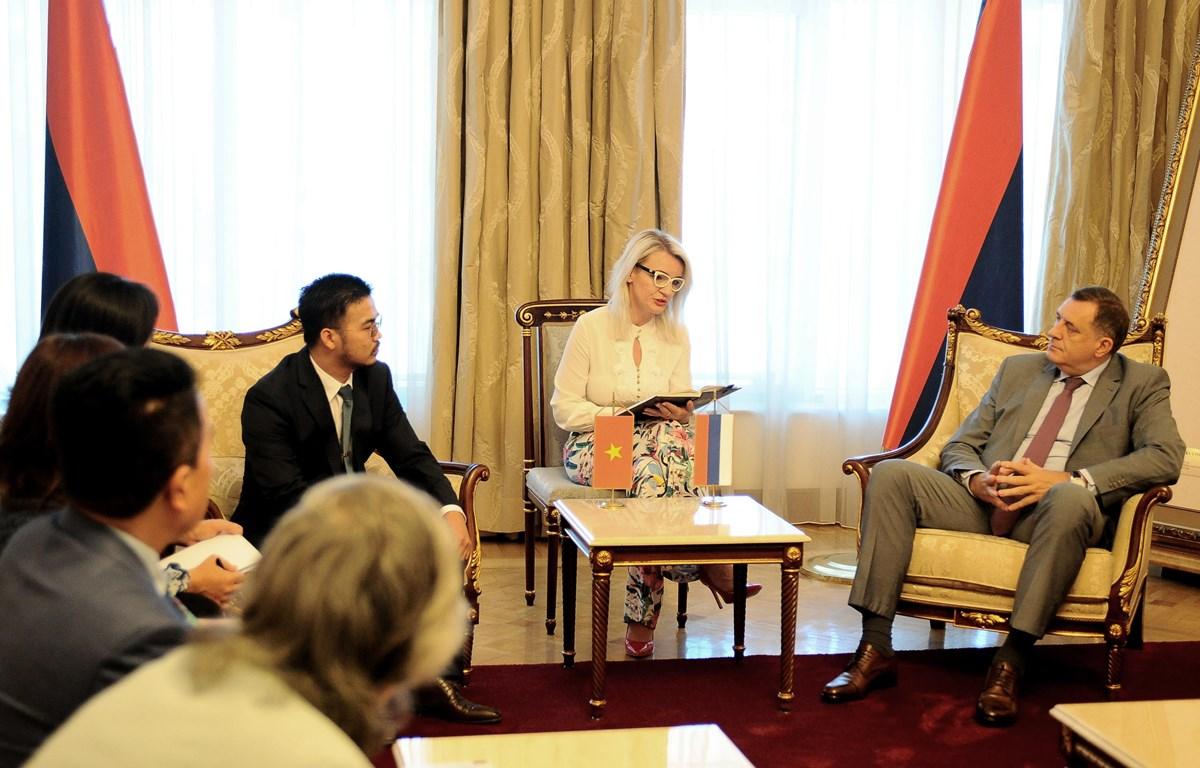 Tỷ phú gốc Việt thúc đẩy hợp tác Việt Nam, Bosnia & Herzegovina và Đức