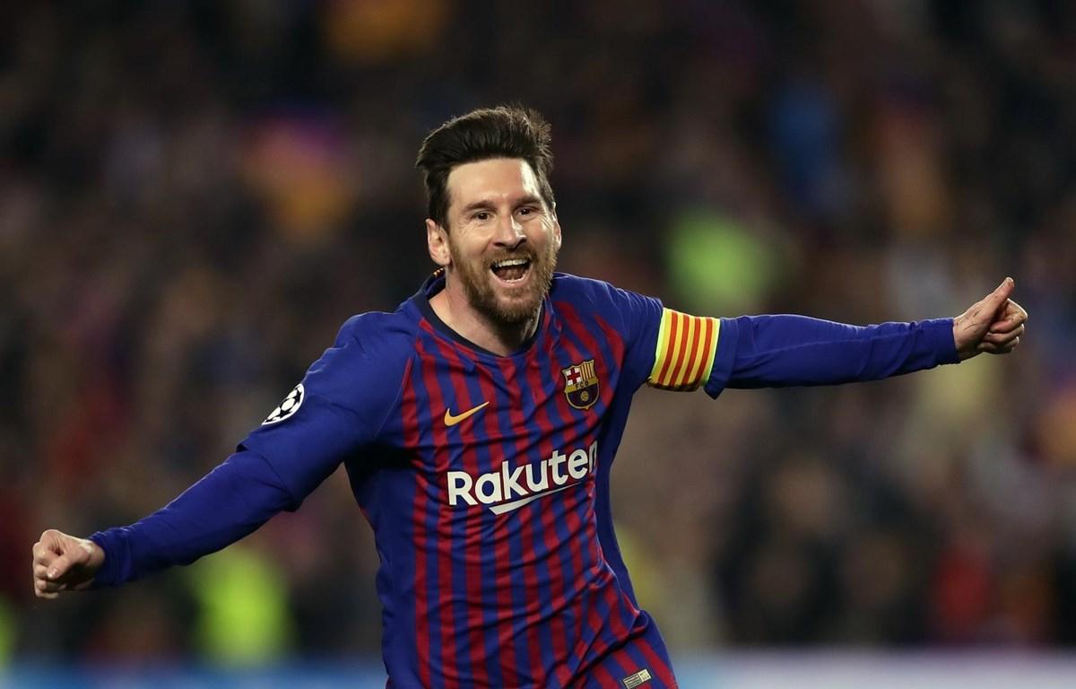 Lionel Messi là vận động viên có thu nhập cao nhất thế giới