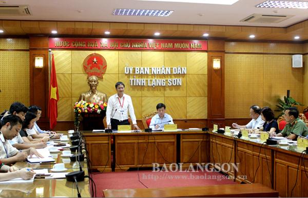 Kiểm tra công tác chuẩn bị kỳ thi THPT quốc gia 2019 tại Lạng Sơn
