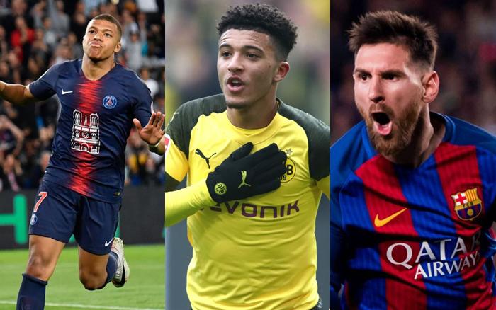 10 cầu thủ đắt giá nhất thế giới 2019: Messi và Ronaldo kém xa Mbappe