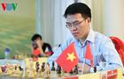Lê Quang Liêm lần đầu vô địch giải cờ vua châu Á