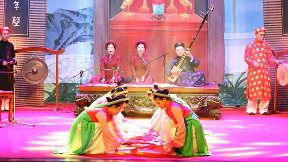 Liên hoan hát Quan họ, Ca trù tỉnh Bắc Giang năm 2019