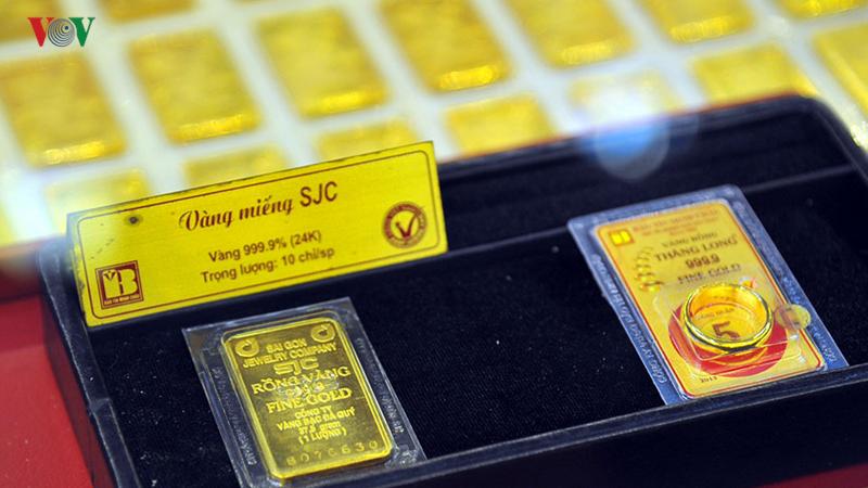 Giá vàng SJC bật tăng vượt xa mốc 38 triệu đồng/lượng