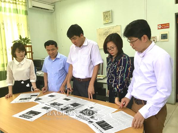 Cán bộ, phóng viên Báo Lạng Sơn năng động, trách nhiệm trong sáng tạo tác phẩm báo chí