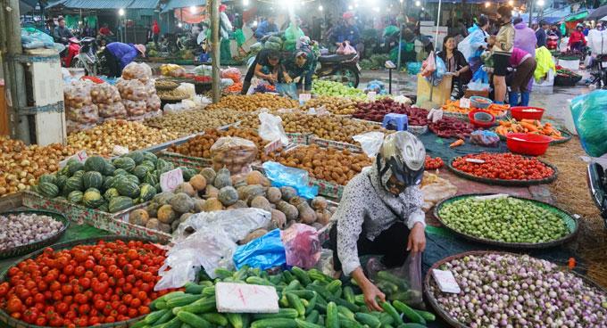 Hà Nội có thêm 6 chợ đầu mối phân phối nông sản an toàn