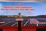 Thêm một nhà máy điện mặt trời phát điện thương mại