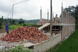 """Lộc Bình: """"Nóng"""" xây dựng nhà ở trái phép trên đất nông nghiệp"""