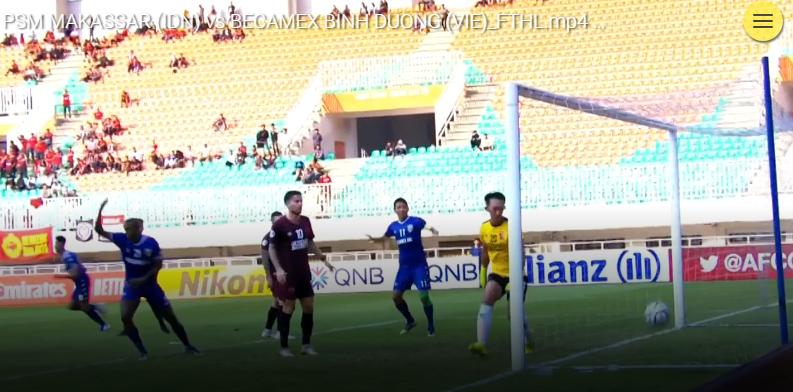 AFC Cup Đông Nam Á: Bình Dương hoàn tất trận chung kết toàn Việt Nam