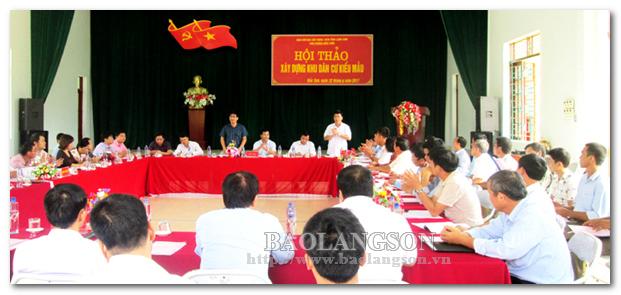 Bắc Sơn học Bác ý thức tôn trọng nhân dân