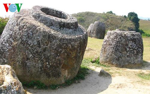 Cánh đồng Chum tại Xiêng Khoảng được UNESCO công nhận di sản thế giới