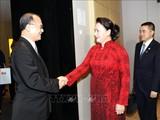 Chủ tịch Quốc hội tiếp đại diện một số doanh nghiệp Trung Quốc
