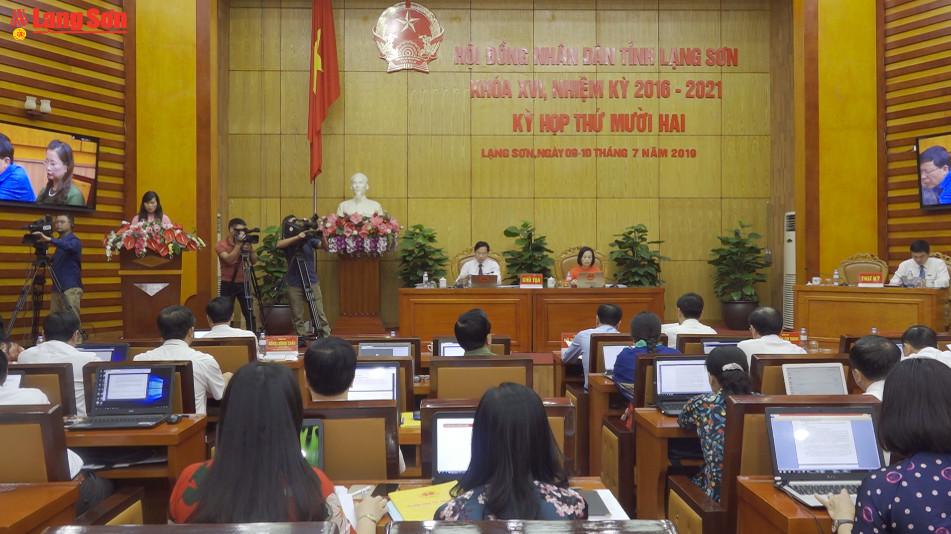 HĐND tỉnh Lạng Sơn khóa XVI nhiệm kỳ 2016 - 2021 bế mạc kỳ họp thứ 12