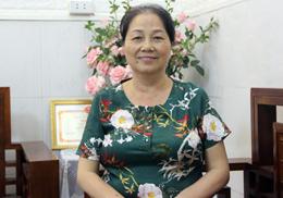 Nữ trưởng ban công tác mặt trận tiêu biểu
