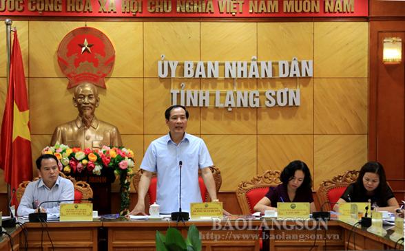 Họp bàn tổ chức kỷ niệm 110 năm ngày sinh đồng chí Hoàng Văn Thụ
