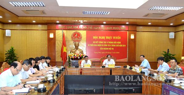 Bộ Nội vụ sơ kết nhiệm vụ 6 tháng đầu năm