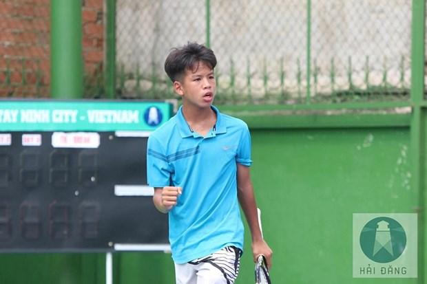 Tài năng trẻ Hùng Anh thua đáng tiếc tay vợt hạt giống số 1