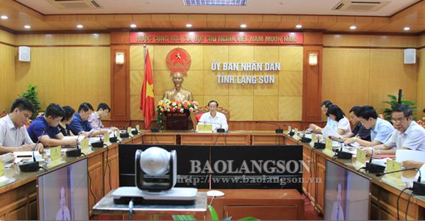 Hội nghị trực tuyến phiên họp của Ủy ban Quốc gia về Chính phủ điện tử