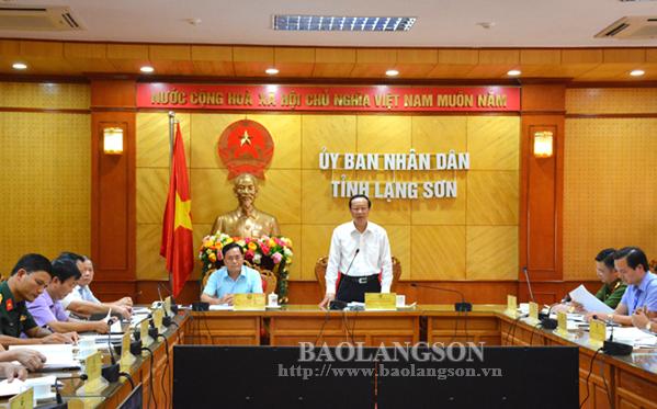 Lạng Sơn: Sơ kết công tác đảm bảo trật tự an toàn giao thông 6 tháng đầu năm