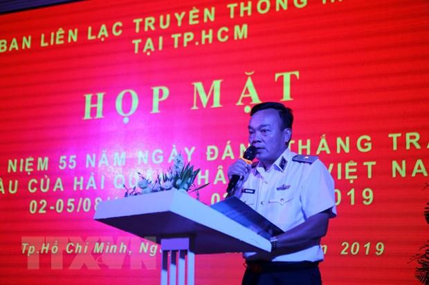 Kỷ niệm Ngày truyền thống đánh thắng trận đầu của bộ đội hải quân