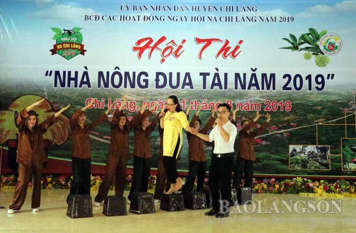 9 đội tham dự Hội thi Nhà nông đua tài huyện Chi Lăng