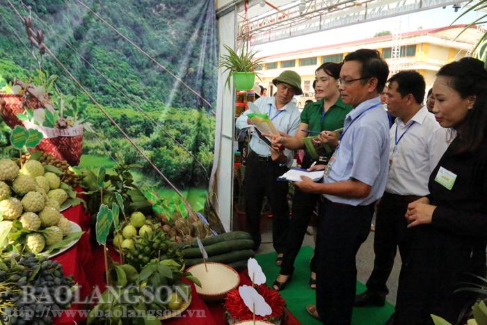 Xã Quang Lang đạt giải nhất Gian hàng đẹp tại Ngày hội na Chi Lăng