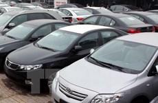 Doanh số bán ôtô nhập khẩu nguyên chiếc tăng trưởng hơn 200%