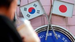 Mỹ hối thúc Hàn, Nhật sáng tạo trong giải quyết tranh cãi thương mại
