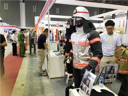 Hơn 300 DN tham gia triển lãm quốc tế về phòng cháy, chữa cháy