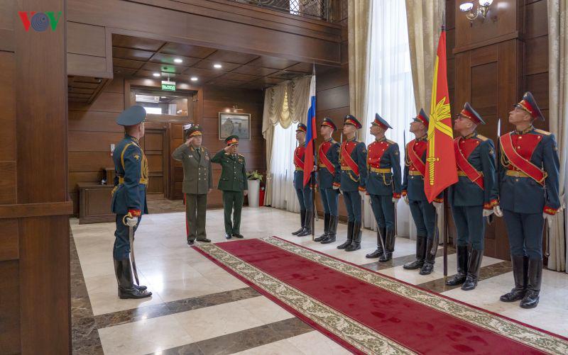Tổng Tham mưu trưởng QĐND Việt Nam thăm chính thức Liên bang Nga