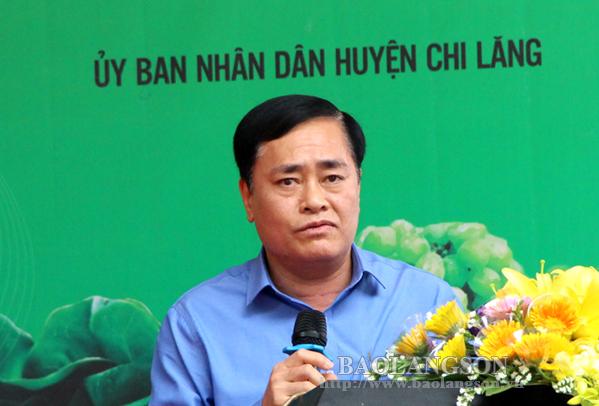 Quảng bá na Chi Lăng và đặc sản Lạng Sơn tại Hà Nội