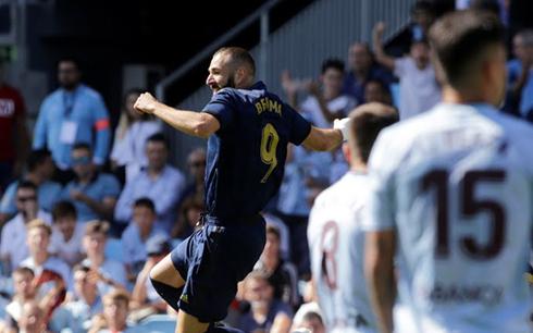 Celta Vigo 1-3 Real Madrid: Benzema và Bale rực sáng