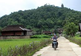 Xây dựng nông thôn mới: Bắc Sơn rực rỡ đường hoa