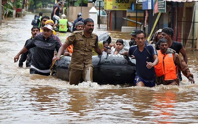Lũ lụt, lở đất hàng chục người thiệt mạng và mất tích ở Ấn Độ